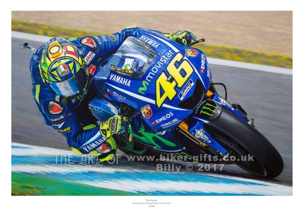 Joey Dunlop limited edition print by Billy